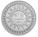 Sun Face - Concrete Stepping Stone  Mold