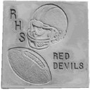 Football Theme - Concrete Stepping Stone  Mold