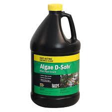 CrystalClear® Algae D-Solv™ Stops Algae Growth - 1 Gallon