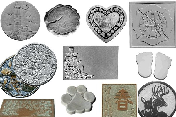 Concrete Molds | Concrete Stepping Stone Molds | Bench Molds for