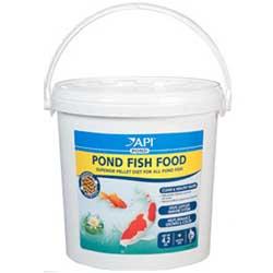 Api pond pond care pond fish food small pellets 25 oz for Small pond care