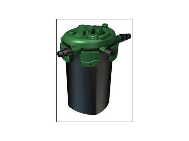 Tetra pond bp 1500 small bi0active pressure filter with no uvc for Garden pond no filter