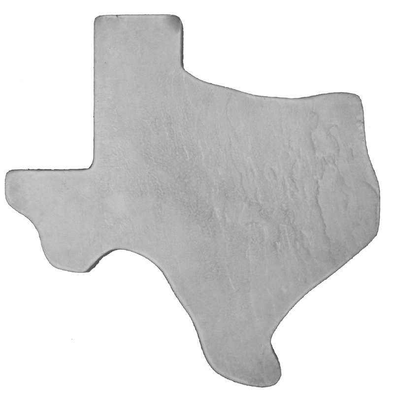 Texas Slate - Concrete Stepping Stone  Mold