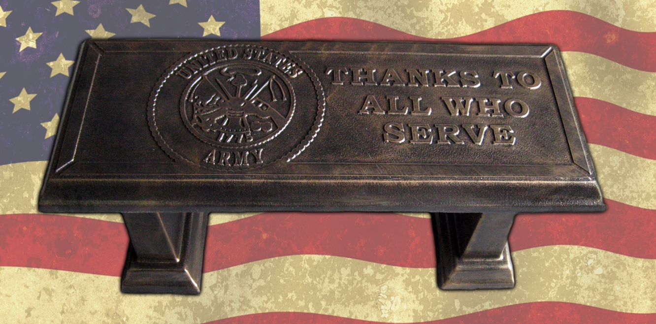 Cement Bench Molds : Concrete stepping stone molds us military