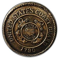 United States Coast GuardWall plaque Concrete Mold 8 x 1