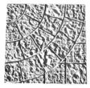 Cobblestone Corner - Concrete Stepping Stone  Mold