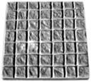 Cobble stone Square - Concrete Stepping Stone  Mold