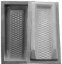 Diamond Splash Block Mold - 11 x 3-1/2 x 24