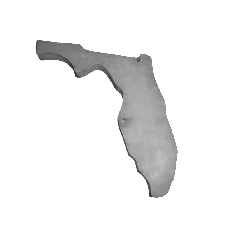 Florida Concrete Mold - Smooth