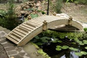 Garden Bridge -  Hi Walk Way  - 6 ft.