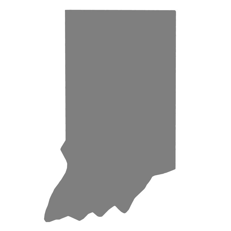 Indiana Concrete Mold - Smooth