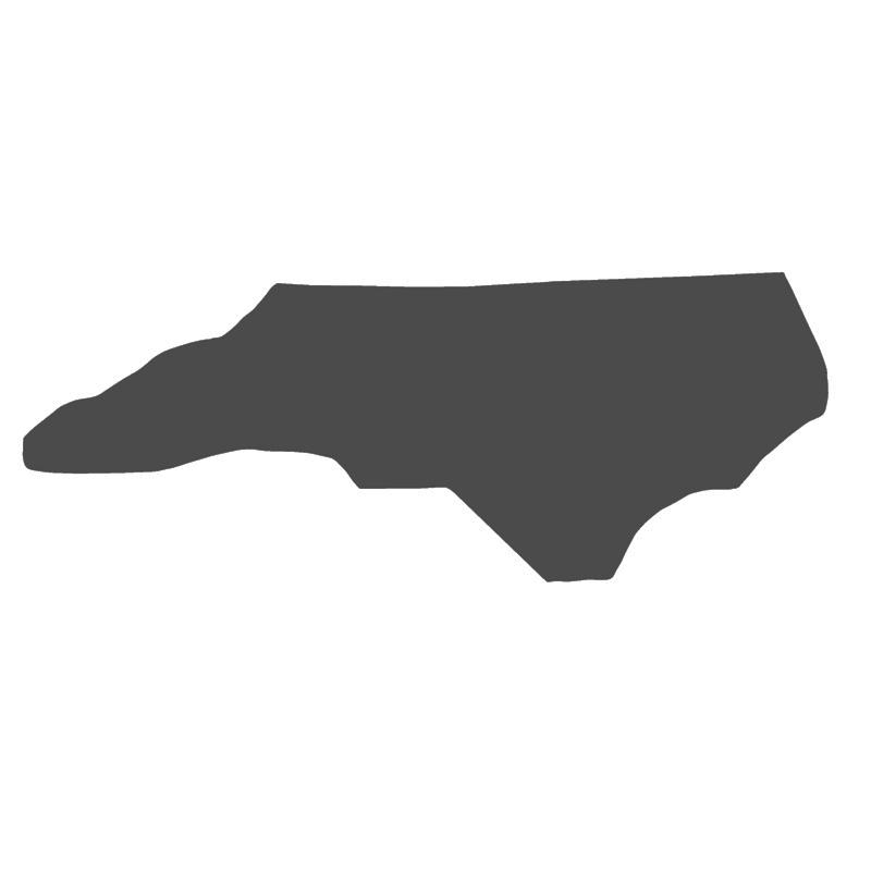 North Carolina Concrete Mold - Smooth