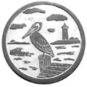 Pelican  - Concrete Stepping Stone  Mold