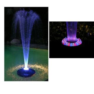 Floating Spray Fountain W Led Light And Pump Ftc102