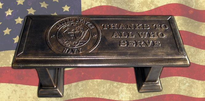 US Navy Concrete Bench Top Mold