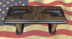 Second Amendment - Concrete Bench Top Mold