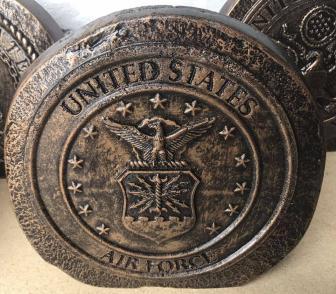 US Air Force rock Concrete Mold