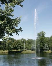 Scott Aerator, Jet Stream Fountain 1/2-Hp/115v
