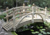 Garden Bridge -  Standard Double Rail  - 10 ft.
