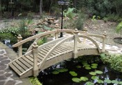 Garden Bridge -  Standard High Rail - 10 ft.