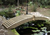 Garden Bridge -  Standard Walk Way  - 6 ft.