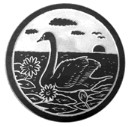Swan  - Concrete Stepping Stone  Mold