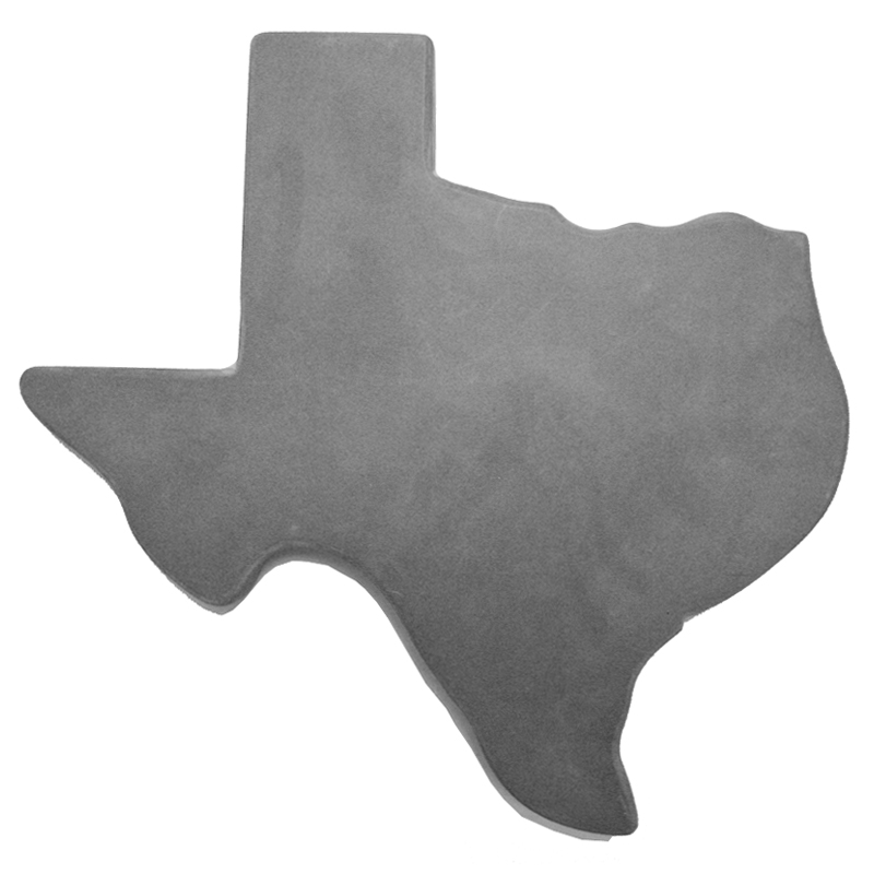 Texas Smooth-Concrete Stepping Stone Mold - Small Size