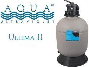 Aqua ultaviolet ultima ll 4000 gal 2 valve for Koi pond sand filter