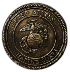 United States Marines   Wall plaque Concrete Mold 8 x 1